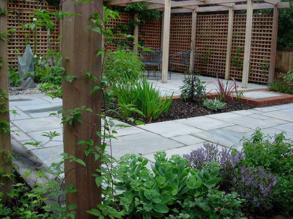 Courtyard garden design photos home trendy for Courtyard garden ideas