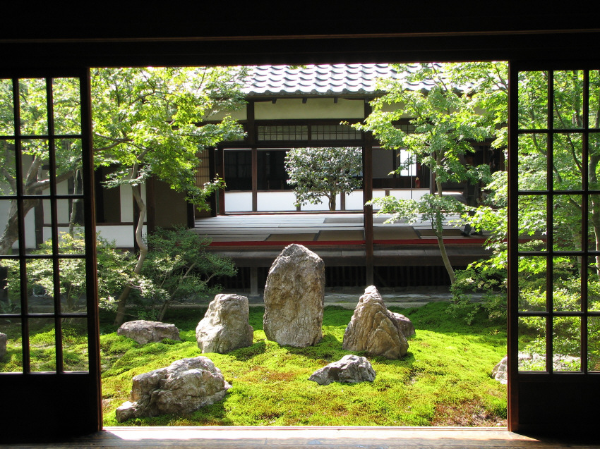 Japanese Courtyard Garden Design Ideas Home Trendy