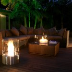 outdoor portable fireplace by ecosmart fire