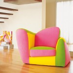 Pink and Yellow Colorful Sofa Sets