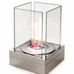 small outdoor portable fireplace by ecosmart fire
