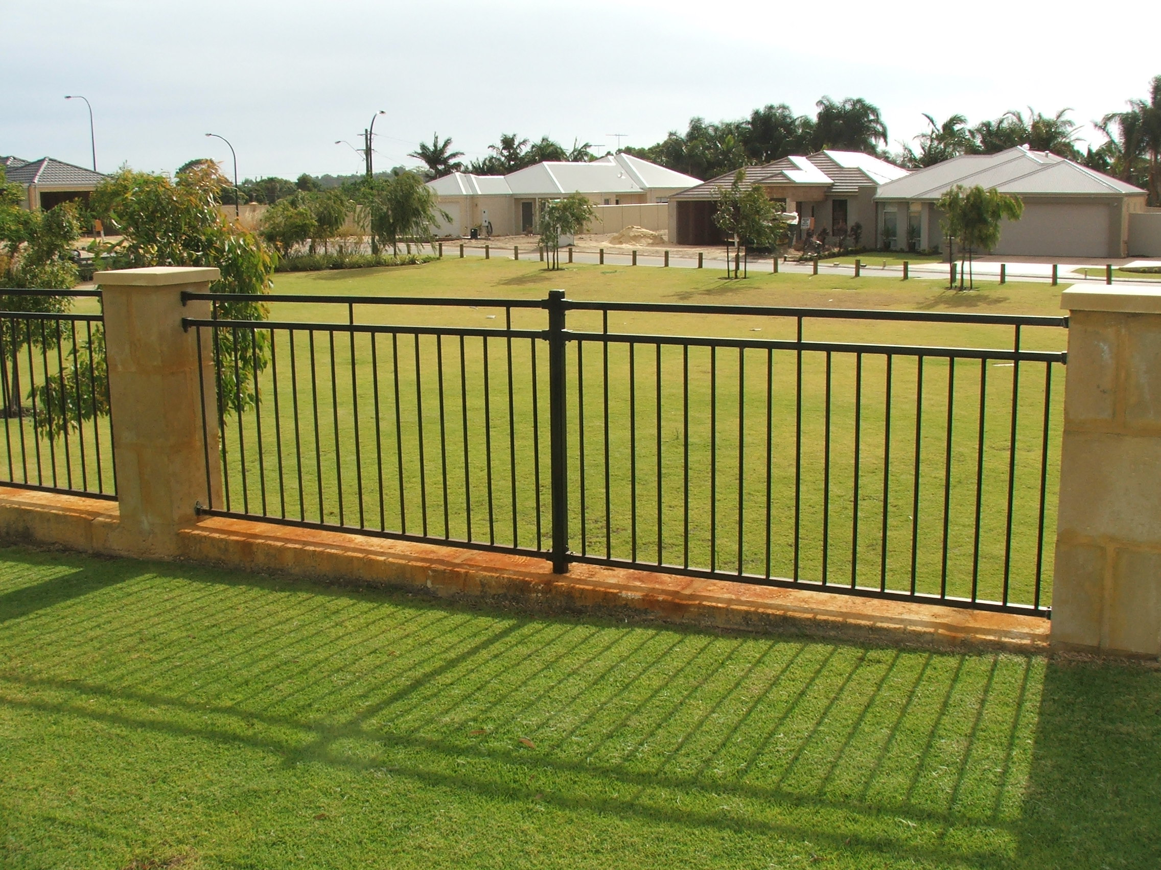 Aluminium garden fence design ideas home trendy