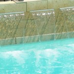 awesome swimming pool fountain design ideas