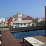 beautiful rooftop swimming pool design ideas