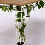 beautiful table for planting design