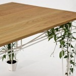 beautiful table for planting ideas
