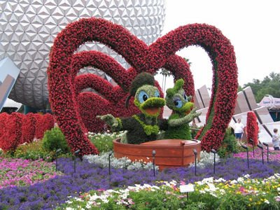 Cartoon flower garden design ideas