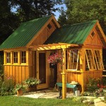 cheap garden shed design ideas
