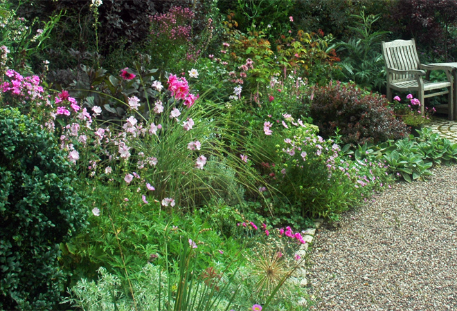 Cottage garden landscape design ideas home trendy for Cottage garden design