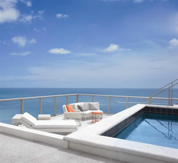 Elegance rooftop swimming pool design ideas home trendy for Rooftop pool design