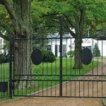 gates in taylor swift new house