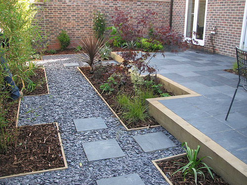 Gravel Garden Pathway Design Ideas   Home Trendy