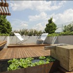 kensington roof garden design ideas