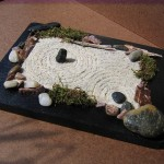 mini rock garden design