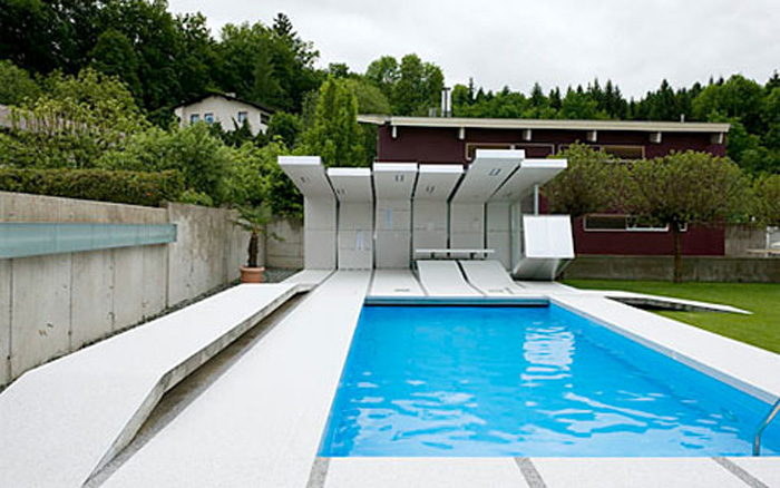 Modern Rectangular Swimming Pool Design Ideas