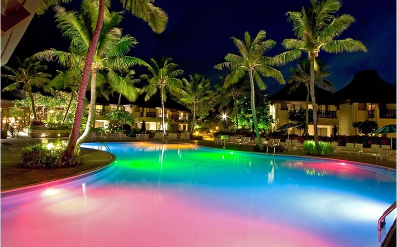 Swimming pool lighting design ideas home trendy - Swimming pool lighting design ...