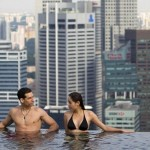 rooftop swimming pool design ideas in city