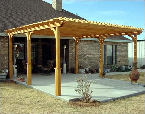 Simple pergola pictures home trendy for Simple pergola ideas