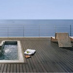 simple rooftop swimming pool design ideas