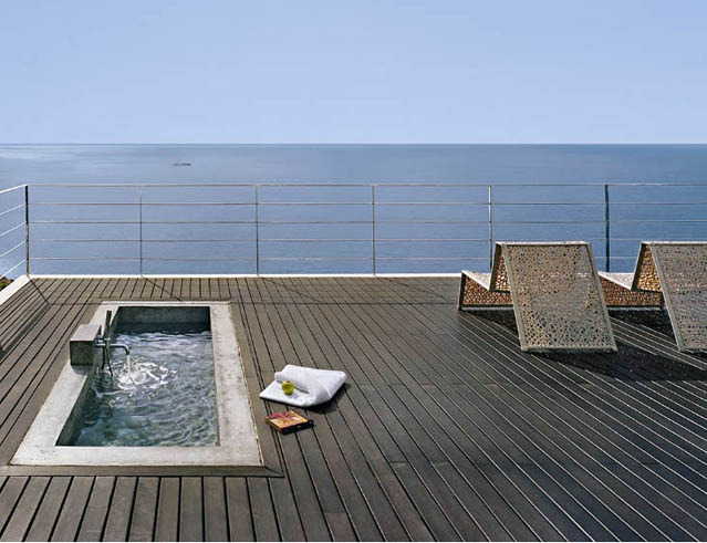 Simple Rooftop Swimming Pool Design Ideas Home Trendy