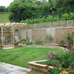 small garden design pictures with flowers decoration