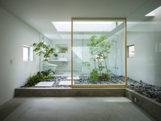 Small indoor japanese garden design ideas home trendy for Small indoor patio ideas