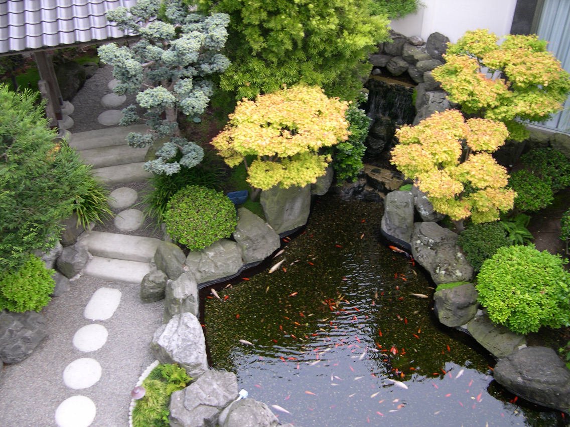 Small japanese garden design ideas long beach home trendy Small home garden design ideas