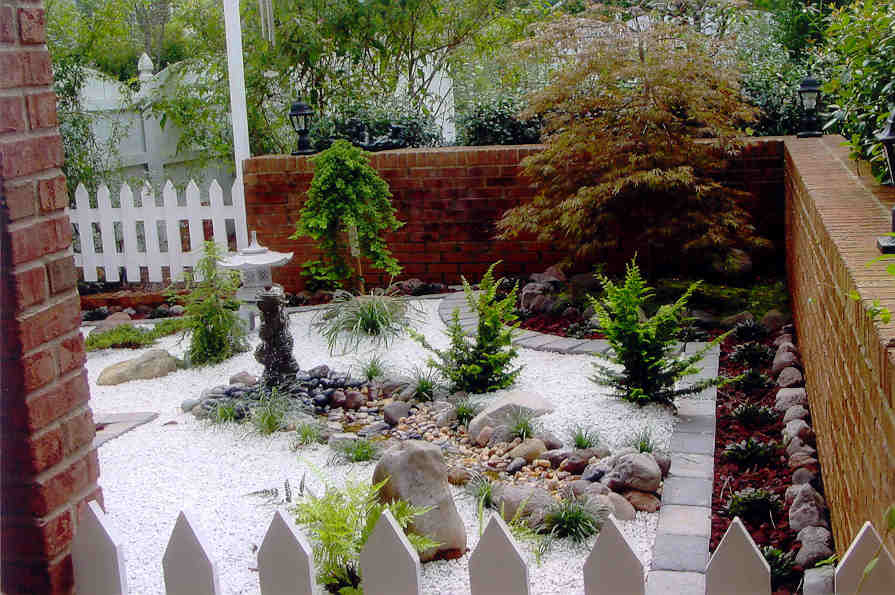 Small Japanese Garden Design Ideas 895 x 595