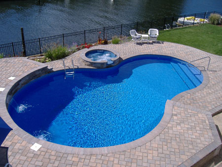 Swimming pool design for small yards home trendy for Swimming pools for small yards