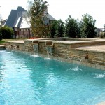 swimming pool fountain design ideas in st albert