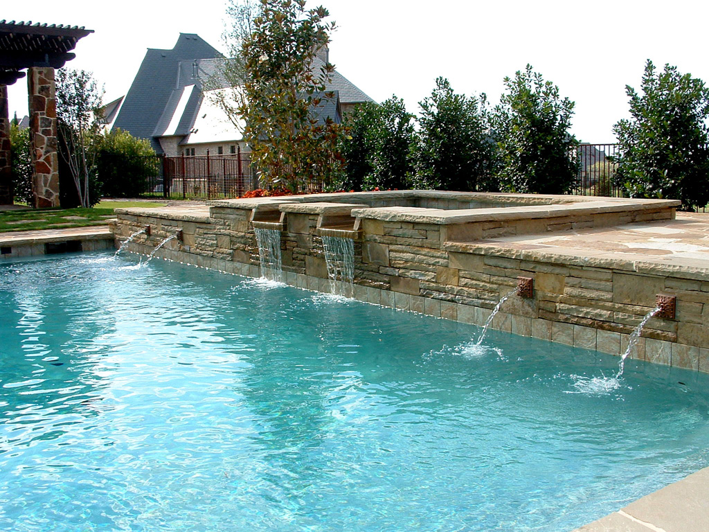 Swimming Pool Fountain Design Ideas In St Albert Home Trendy