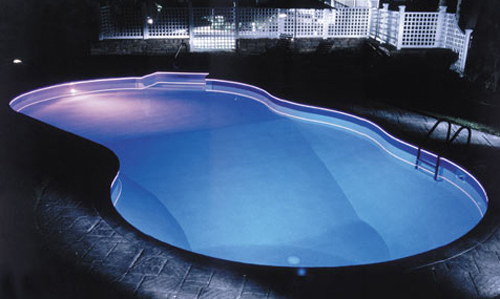 Swimming pool patio lighting design ideas home trendy - Swimming pool lighting design ...