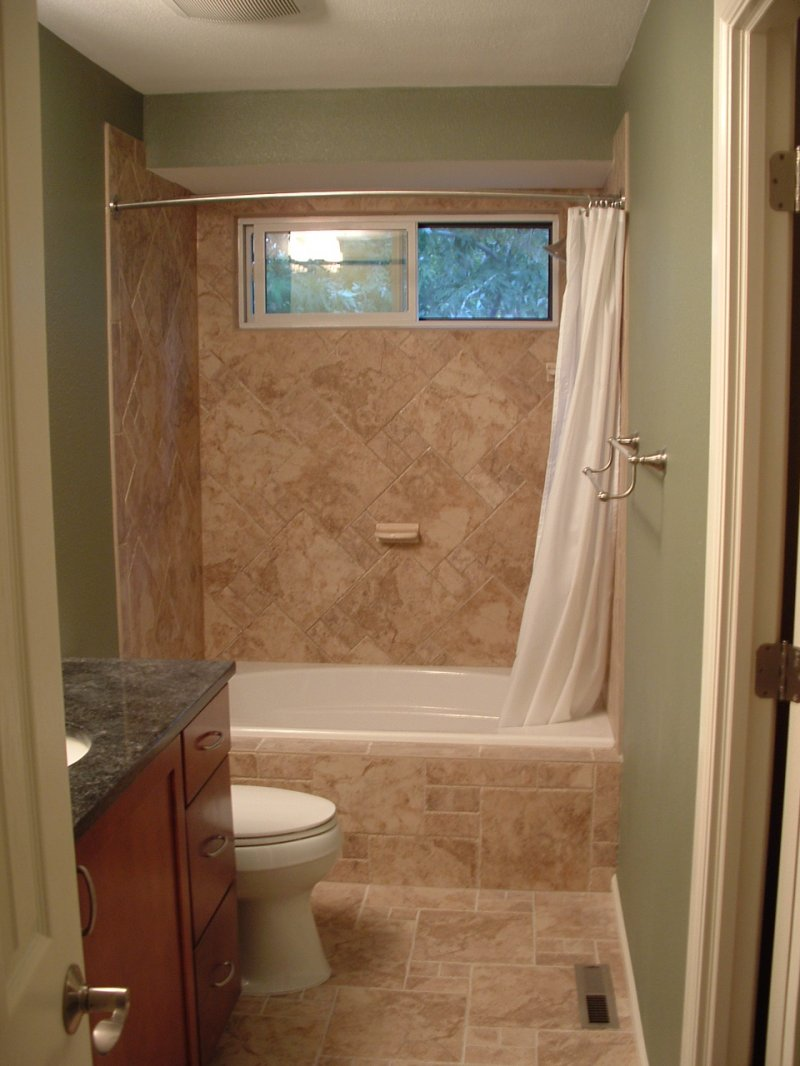Bathroom tile ideas casual cottage for Images of bathroom tile ideas