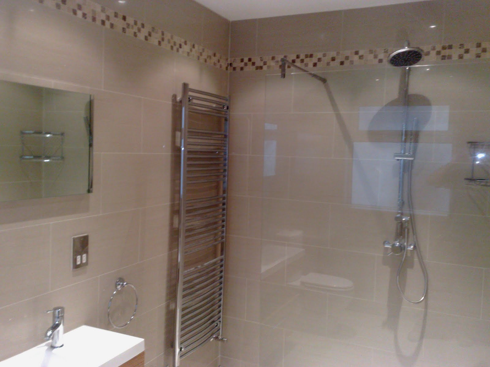 Tile Bathroom Shower Layout Design Ideas Home Trendy