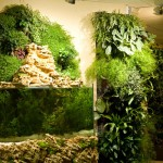 vertical wall garden design ideas