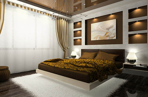 Brown and cream bedroom ideas home trendy for Brown and cream bedroom ideas