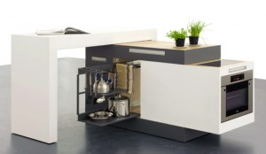 Compact Kitchen Unit Design