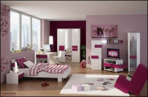 Contemporary Bedroom Design for Teen