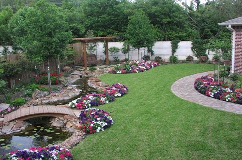 Florida Garden Landscape Ideas Photograph | Landscaping Idea