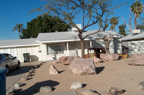 Front Yard Landscaping With Rock