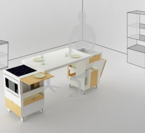 Used Compact Kitchen Design