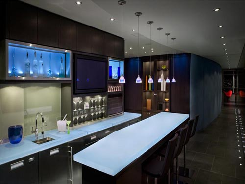 Canadian mini bar furniture design ideas home trendy for Mini bar decorating ideas