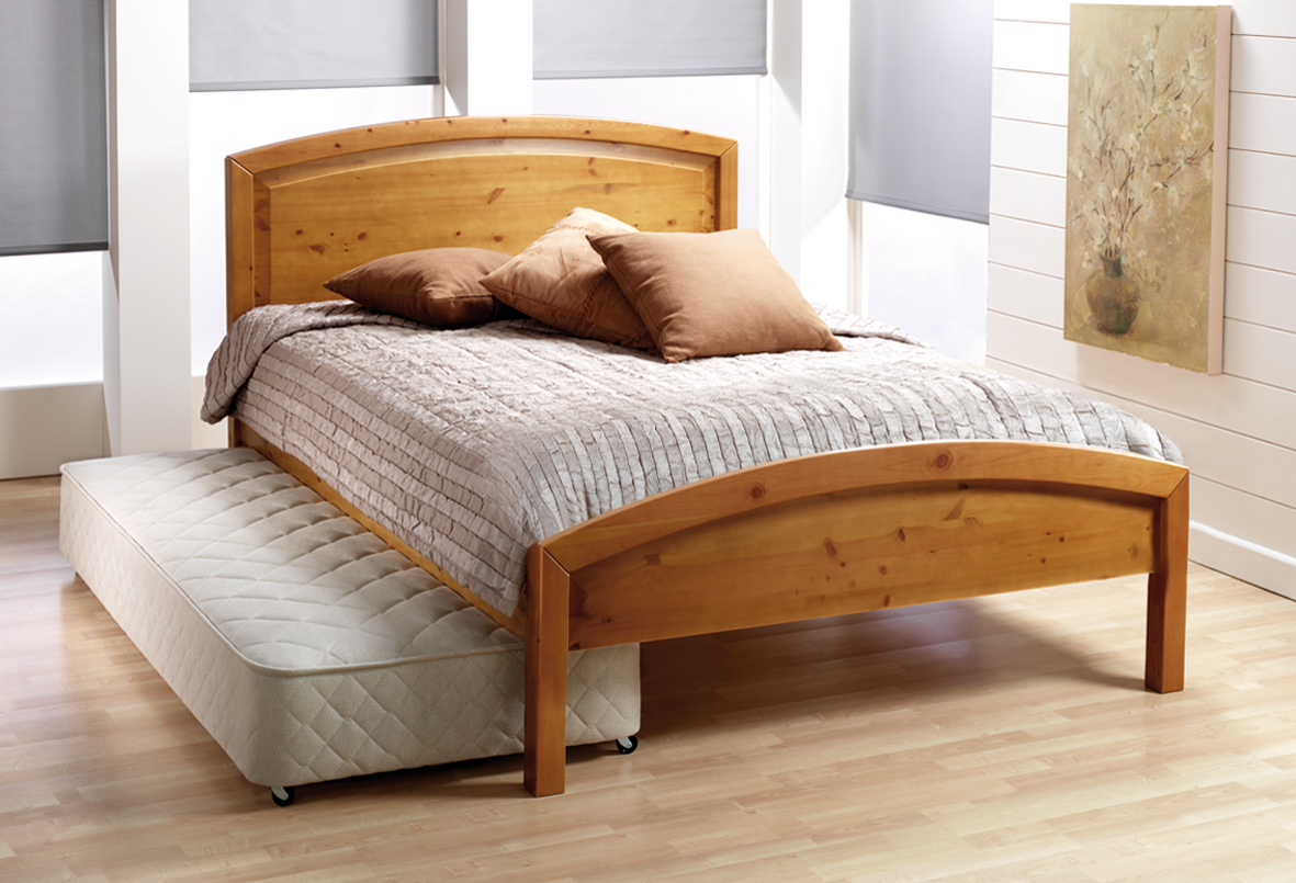 Build twin size platform bed frame for Full size bed ikea