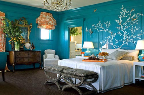 blue bedroom paint colors home trendy