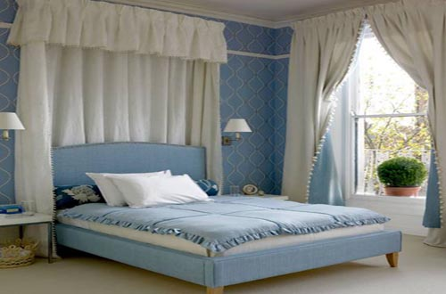 Blue ideas images for Bedroom ideas in blue