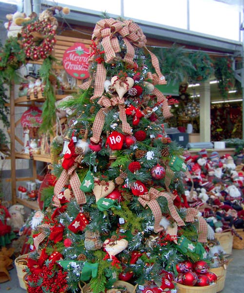 Christmas Decoration Ideas With Ribbon : Christmas tree decorating ideas with ribbon home trendy