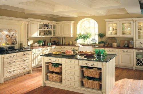 What is the 2014 color trend for kitchen counters home design idea - Cream glazed kitchen cabinets pictures ...