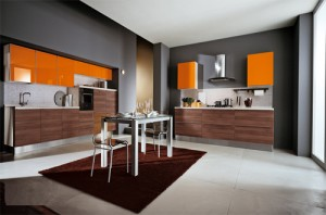 Cucine Orange Kitchen Design
