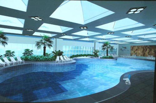 Indoor Swimming Pool San Jose Home Trendy