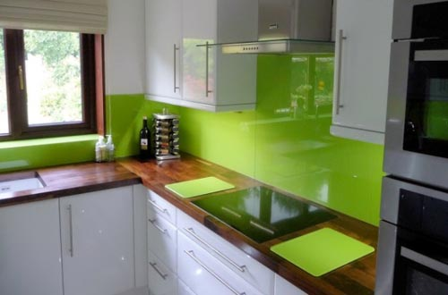 Lime Green Kitchen Walls Home Trendy